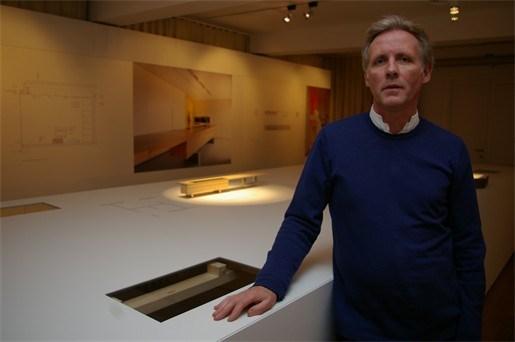 Interieur tentoonstelling Leo Aerts 360° in de Halle