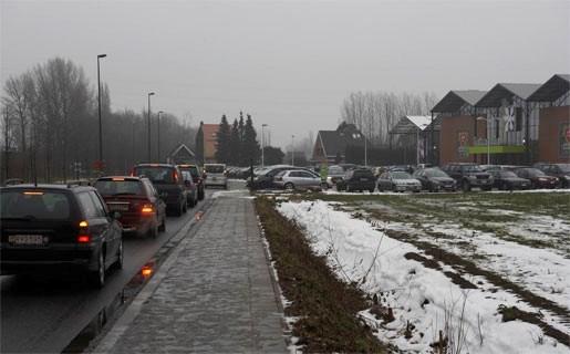 Bezoekers Intratuin veroorzaken hinder foor fout parkeren