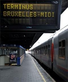 Treinbegeleiders staken vanwege nieuwe dienstregeling