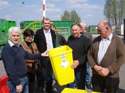 Inzameling medisch afval landbouwbedrijven