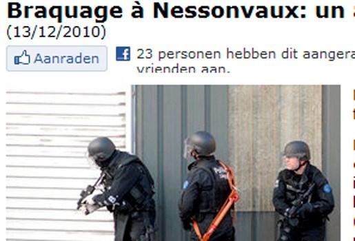 Gijzeling in Axa-kantoor nabij Luik