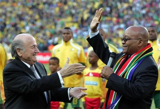 Zuid-Afrika krijgt geld van FIFA voor sociale projecten