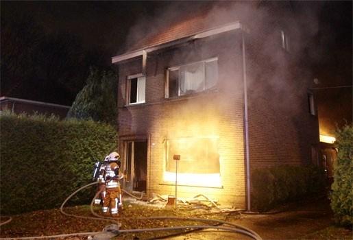 Zware brand in Wuustwezel verwoest woning volledig
