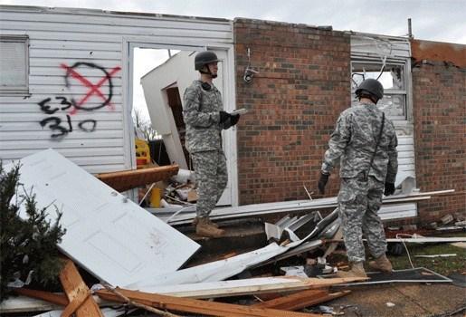 Tornado's eisen mensenlevens in VS