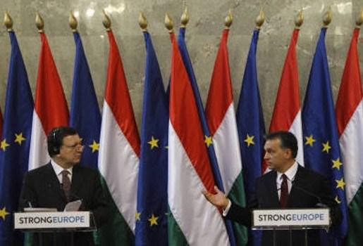Hongarije is bereid mediawet aan te passen