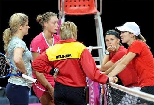 België op zijn sterkst in Fed Cup-duel tegen VS
