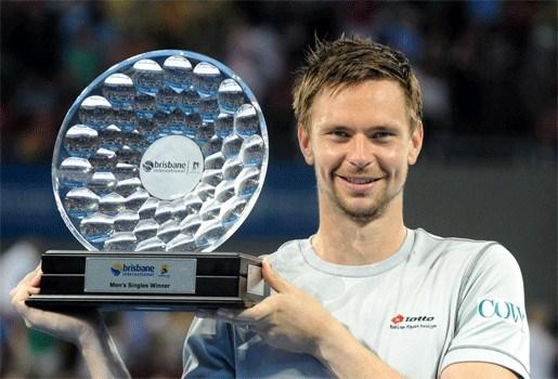 Robin Söderling klopt Andy Roddick in Brisbane