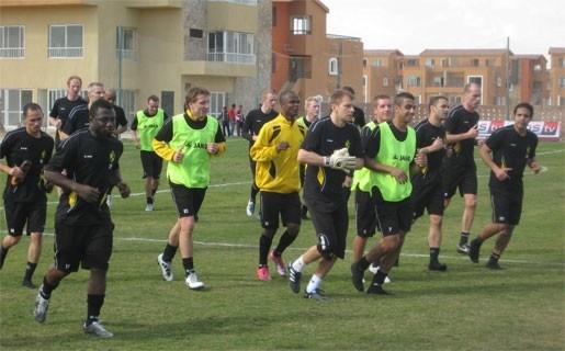 Dagboek Lierse SK: Twee zware trainingen