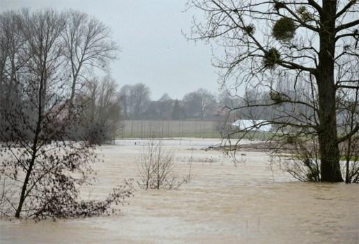 Waterpeil rivieren kan (even) dalen, straks nieuwe regenzone