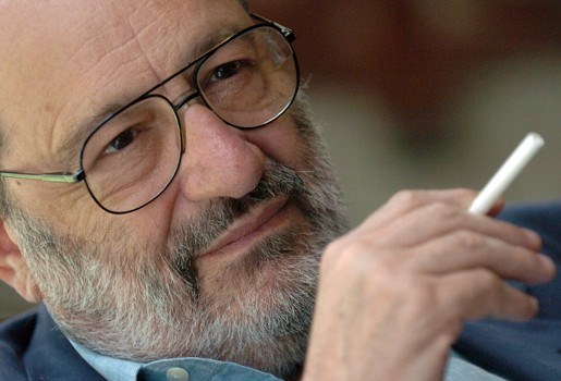 Umberto Eco (79) schrijft nieuwe roman