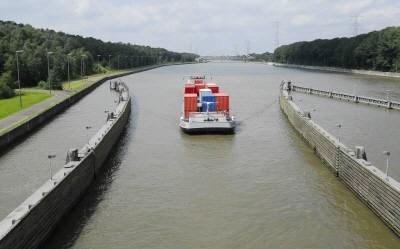 Trafiek op Albertkanaal en Kempense kanalen 15,5% hoger