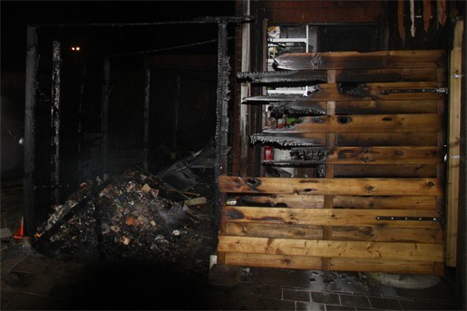 Gasfles veroorzaakt brand in La Cita