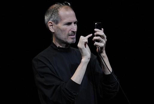 Steve Jobs met ziekteverlof, aandelen dalen