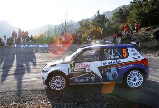 Freddy Loix wordt tweede in Rally van Monte Carlo
