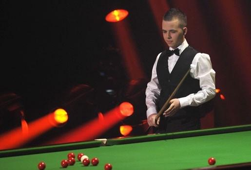 Luca Brecel stunt niet op German Masters Snooker