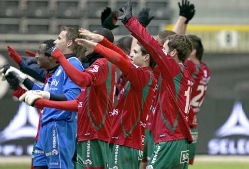Zulte Waregem wint met 0-2 bij Eupen