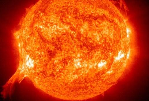 Plasmawolk heeft aarde bereikt