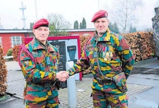 Afscheid van adjundant-chef Van De Wal
