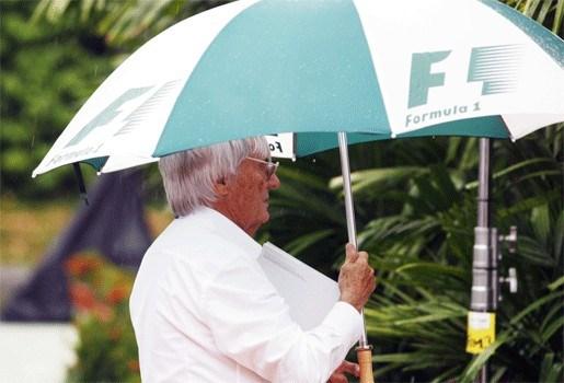 """Ecclestone: """"Zelf regen creëren tijdens F1-races"""""""