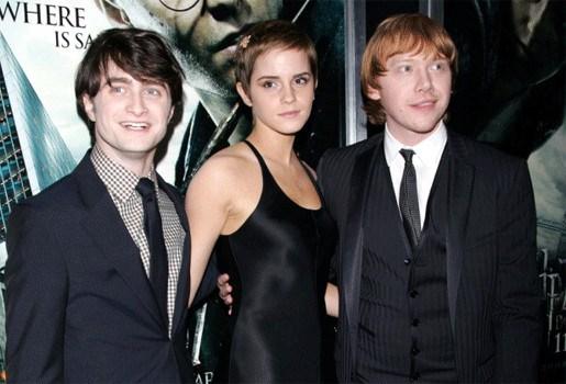 Harry Potter-acteurs over rode loper op Trafalgar Square