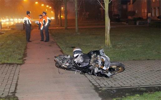 Motorijder zwaargewond na ongeval op Herentalsebaan