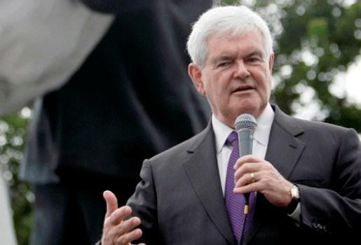 """Gingrich eerste Republikeinse uitdager Obama"""