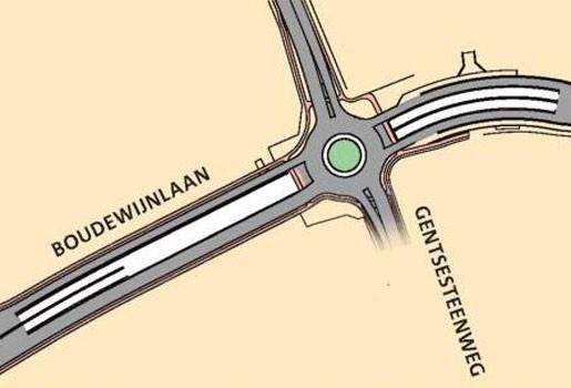 Groen licht voor tunnel onder zwart punt