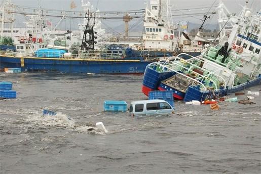 Volledig dorp vermist na tsunami