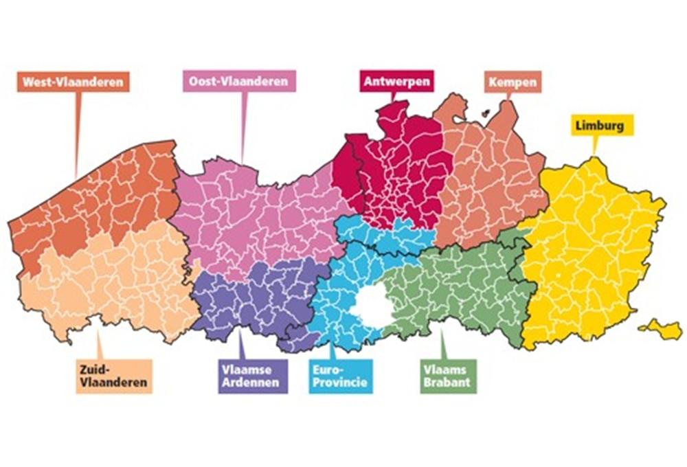Worden Vlaamse provincies hertekend? - Gazet van Antwerpen