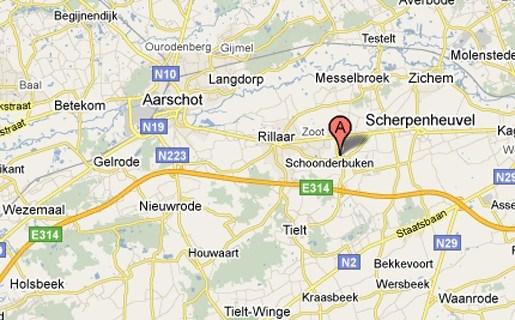Man uit Aarschot verpletterd tussen auto en bestelwagen