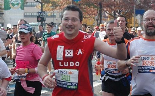 """""""Stad hoort een dag per jaar aan jogger toe"""""""