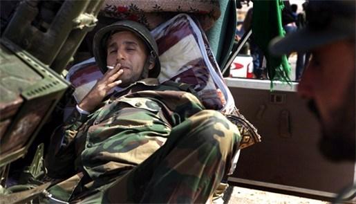 """""""Ook Sirte in handen van de Libische rebellen"""""""