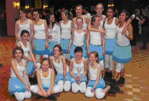 Dansschool Swing behaalde 1e, 2e en 3e plaats in danswedstrijd