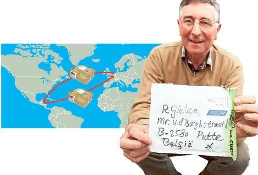 Pakketje naar Grasheide komt in Centraal-Amerika terecht
