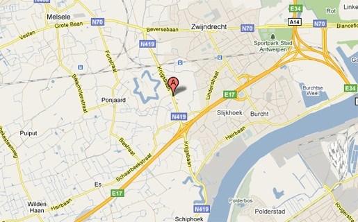 Een gewonde bij wilde achtervolging die eindigt in Antwerpen