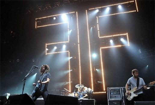 Foo Fighters en Mark Ronson op Pukkelpop