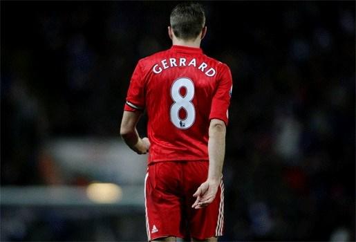Steven Gerrard komt dit seizoen niet meer in actie