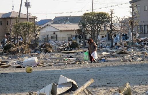 Maak een virtuele wandeling door Japan na aardbeving