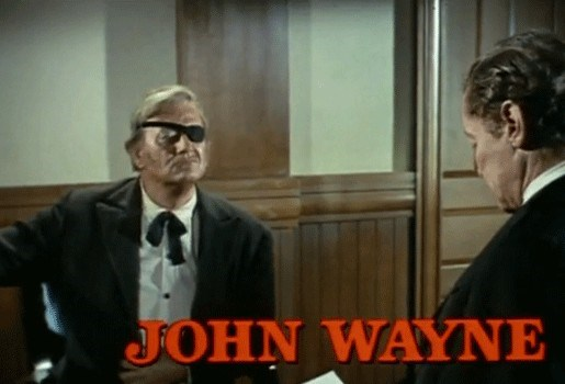 Te koop: Ooglapje John Wayne uit 'True Grit'