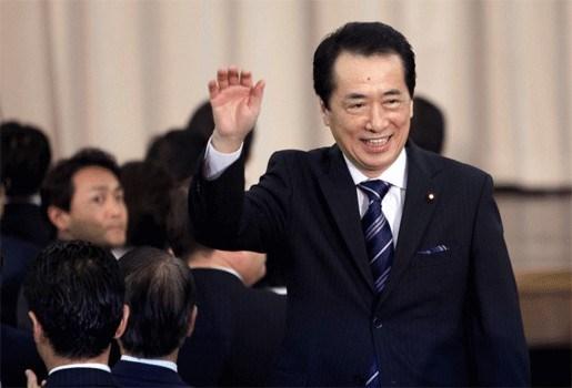 Japans premier staat schenking miljoen yen af