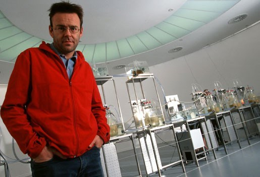 "Wim Delvoye: ""Cloaca-machine wél zelf uitgevonden"""