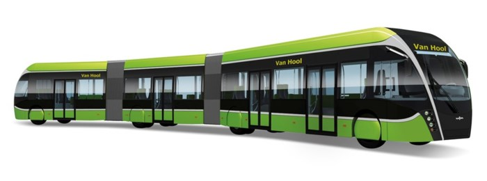 Van Hool stelt luxueuze lijnbus met strak ontwerp voor