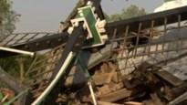 Historische molen helemaal vernield na windstoot