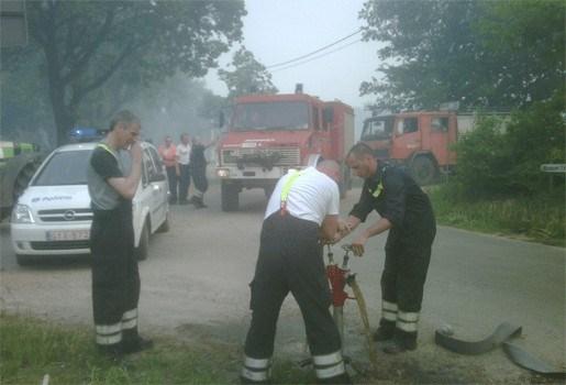 Hevige brand in natuurgebied Meeuwen-Gruitrode geblust