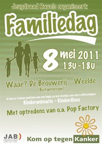 Jeugdraad organiseert familiedag
