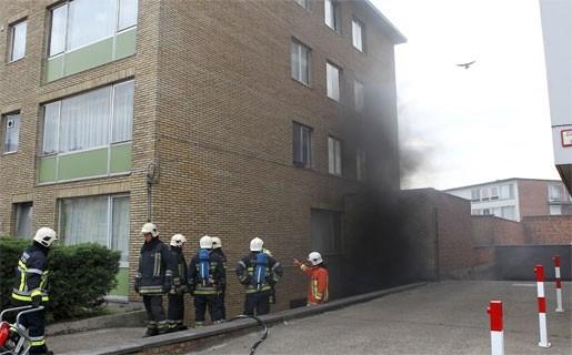 Appartementsgebouw ontruimd na brand in garage