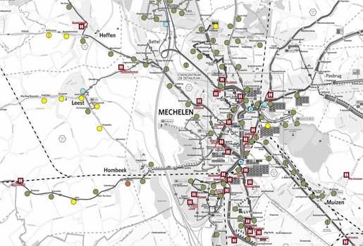 Mechelen plaatst 38 nieuwe bushokjes