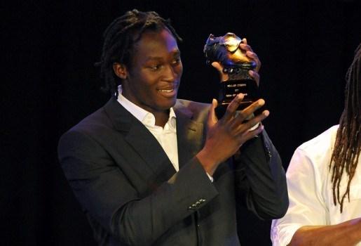 Romelu Lukaku wint Ebbenhouten Schoen 2011
