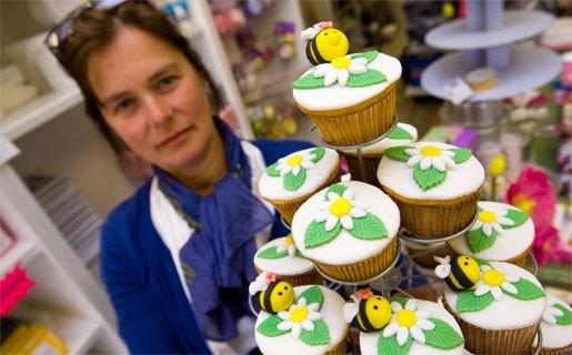 Shop-in-shop richt zich op cupcake-fans