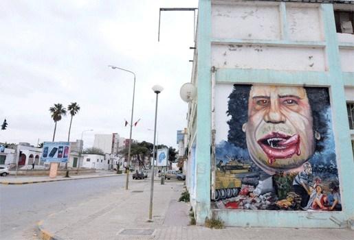 Inwoners Ajdabiya pakken het normale leven weer op